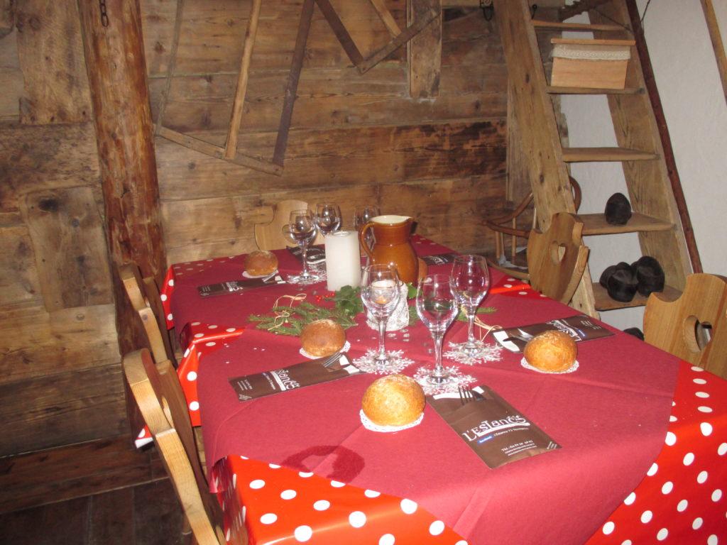 Restaurant Estanco Val Cenis Haute Maurienne Vanoise Savoie noel